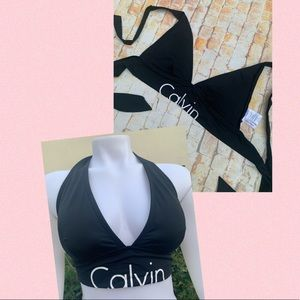 Knotted Triangle Top Calvin Klein